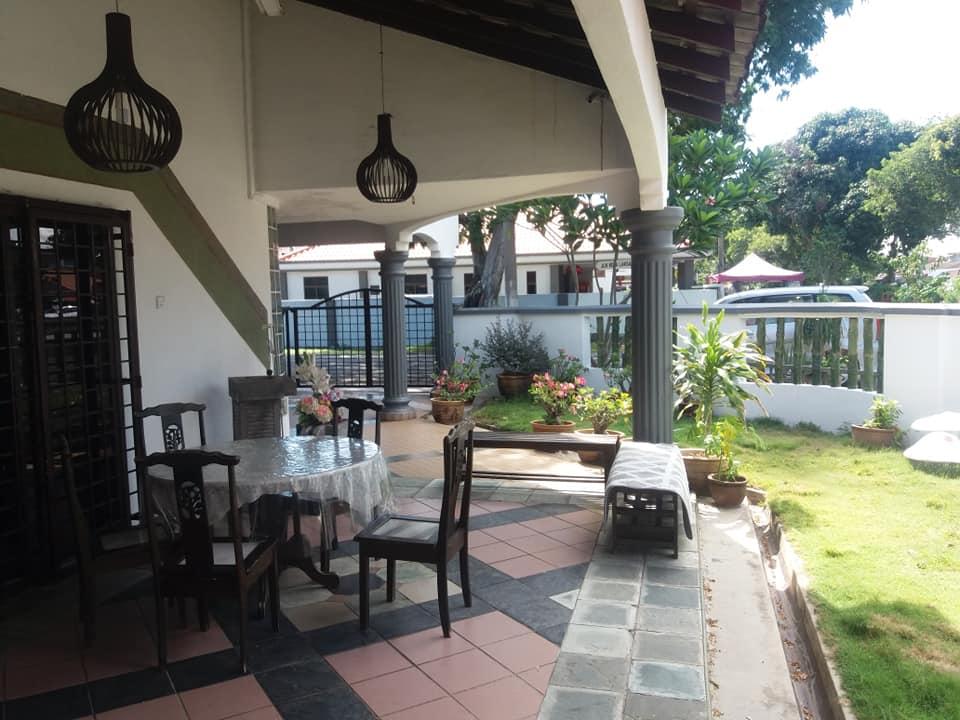 Zona ajardinada de The Paradise, Malacca