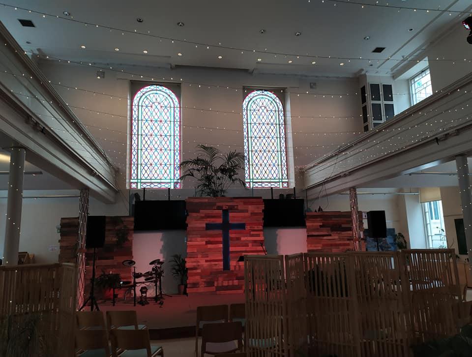 Inside St George's Tron