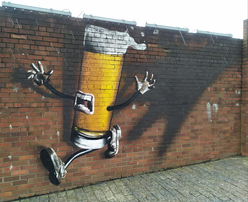 Tennents Brewery street art