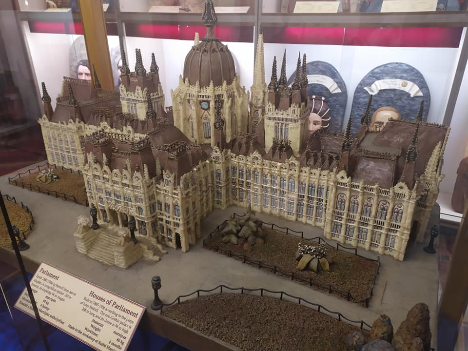Houses of Parliament at the Szentendre Marzipan Museum