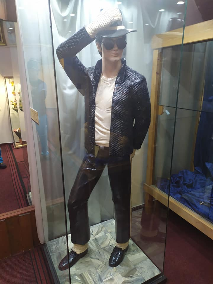 Michael Jackson at the Szentendre Marzipan Museum