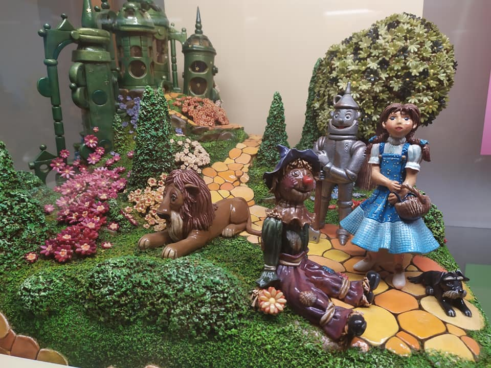Wizard of Oz at the Szentendre Marzipan Museum